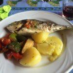 lekker eten met Toni op sardinie