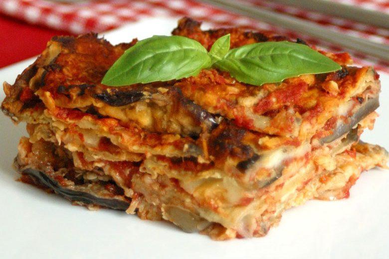 recept Toni's melanzane parmigiana sardinie