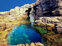 het natuurzwembad van sant antioco