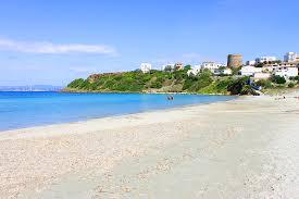 onder de toren, de stranden sant antioco