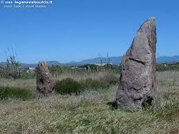 menhirs op Sardinie, sant antioco