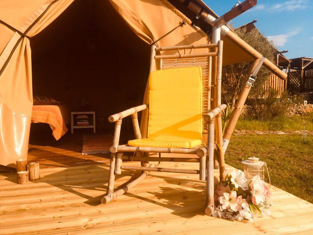 B&B in tent op Sardinie