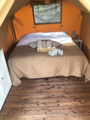 B&B in een tent